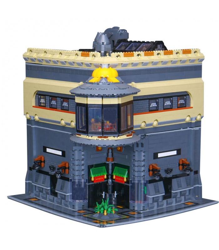カスタム恐竜博物館MOC建材用煉瓦の玩具セット5003個