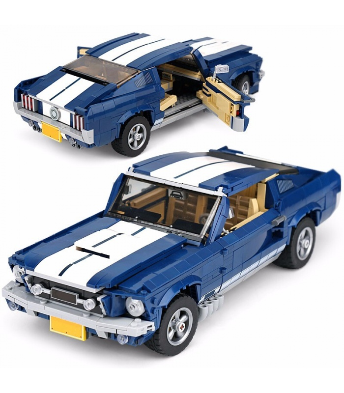 Custom Ford Mustang GT Creator Expert Building Bricks Toy Set