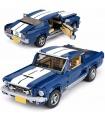 Personalizado Ford Mustang GT Creador de Expertos Edificio de Ladrillos Conjunto de Juguete
