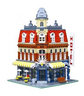 Custom Cafe Corner Compatible Building Bricks Set 2133 Pieces