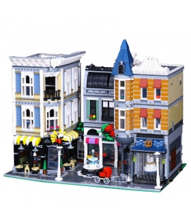 Custom-Creator Expert-Montage Quadratischer Bau Ziegel Spielzeug-Set 4002 Stück