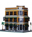 Custom MOC Street View Starbucks Bookstore Cafe Building Bricks Toy Set 4616 Pieces