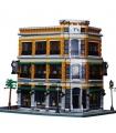 Personalizado MOC Street View Starbucks Librería Cafetería Edificio de Ladrillos de Juguete Set 4616 Piezas