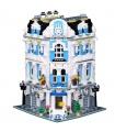 Custom MOC International Sunshine Hotel Building Bricks Toy Set