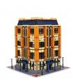 Custom MOC Apple Square University Building Bricks Toy Set 7968 Pieces