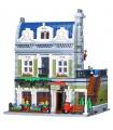 Изготовленный На Заказ Создатель Эксперт Парижского Ресторана Строительного Кирпича Игрушка Набор 2418 Штук