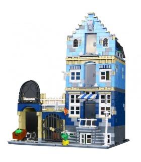 Custom Creator Expert Market Street Compatible Building Bricks Set 1275 Pieces