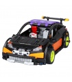 Custom MOC Remote Control Hatchback Type R Building Bricks Toy Set 640 Pieces