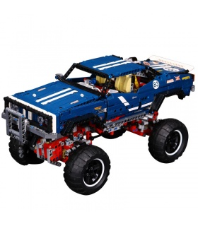 Custom-Technic-4x4 Crawler Exclusive Edition Bausteine Spielzeug-Set 1605 Stücke