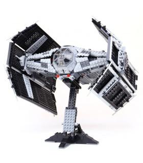 Custom Vader's TIE Advanced Building Bricks Toy Set 1212 Pieces