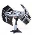 Custom Star Wars Vader's TIE Advanced Building Bricks Toy Set 1212 Pieces