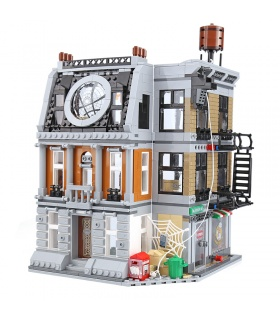 Custom Sanctum Sanctorum Showdown Building Bricks Toy Set 1125 Pieces