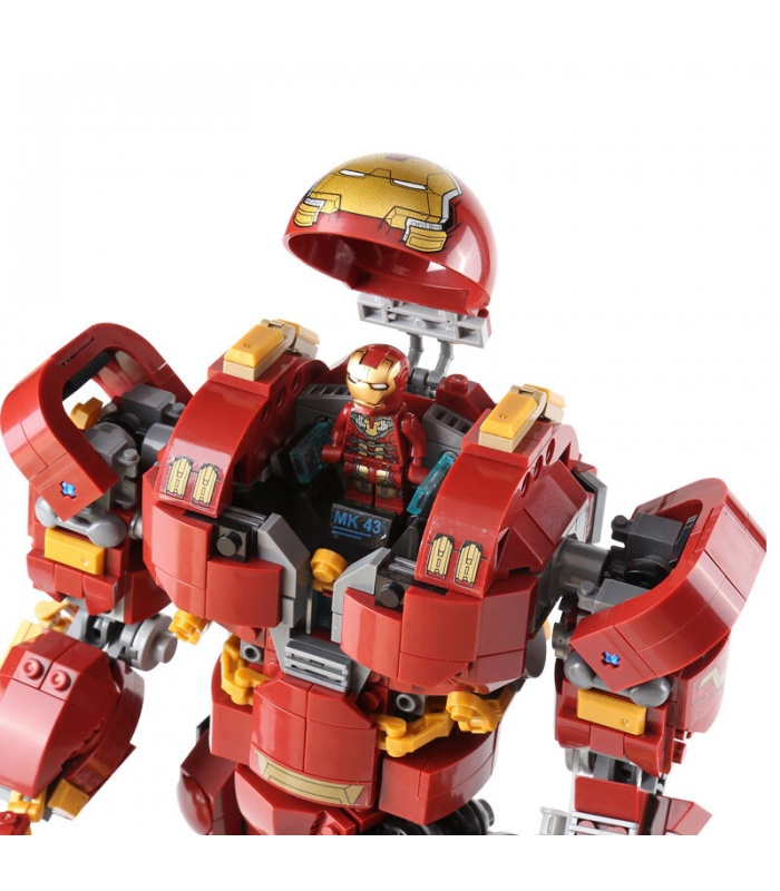 Custom The Hulkbuster: Ultron Edition Building Bricks Toy Set 1527 Pieces