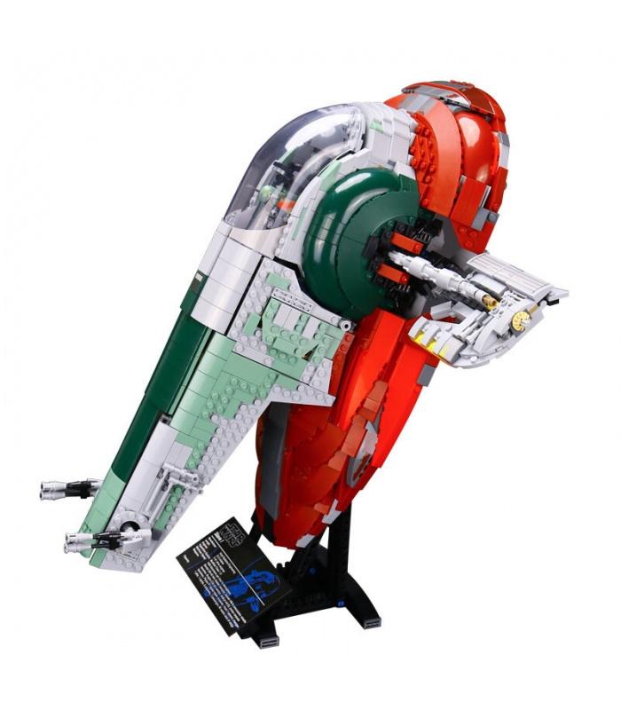 Custom Star Wars UCS Slave I Building Bricks Toy Set 2067 Pieces