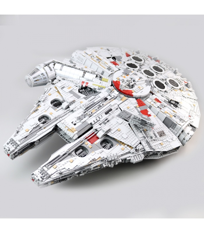 Custom Star Wars Millennium Falcon Building Bricks Toy Set 8445 Pieces