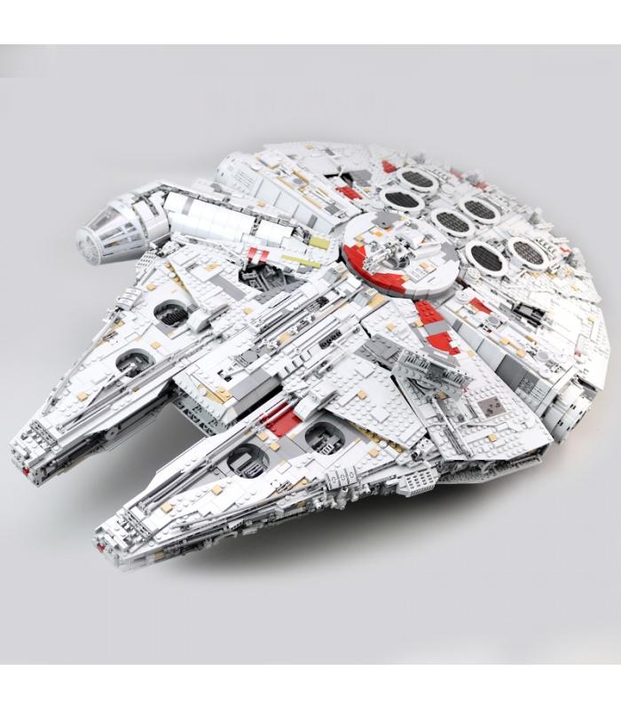 Пользовательские Звездные Войны Сокол Тысячелетия Набор Строительных Кирпичей 8445 Штук