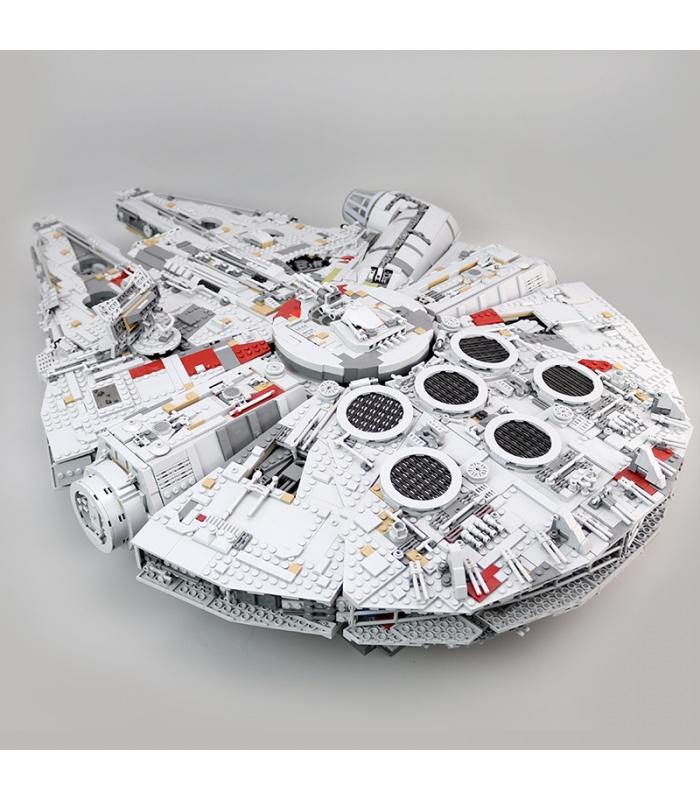Custom Star Wars-Millennium Falcon Bausteine Spielzeug-Set 8445 Stück