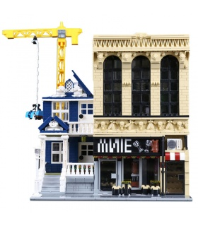 Custom Wine Bar and Financial Company Building Bricks Toy Set 2841 Pieces