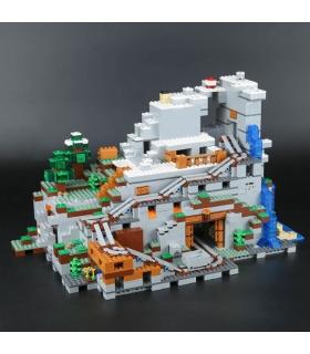 Personalizado De Minecraft La Cueva De La Montaña Compatible Con La Construcción De Ladrillos De Juguete Set 2932 Piezas