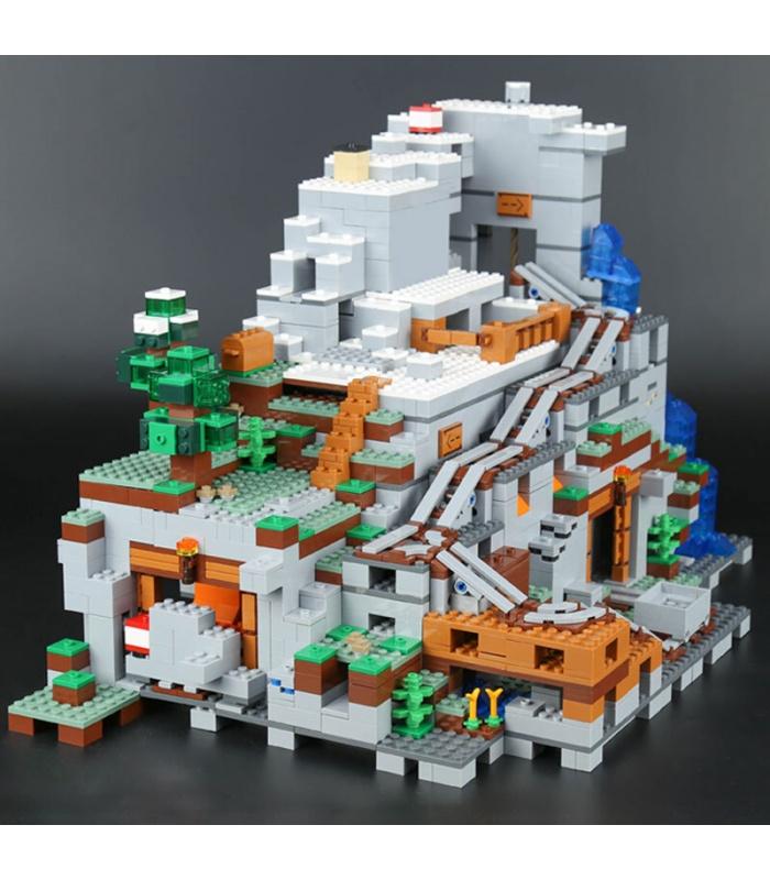 Лепин 18032 Майнкрафт горной пещере здание игрушка кирпичи комплект