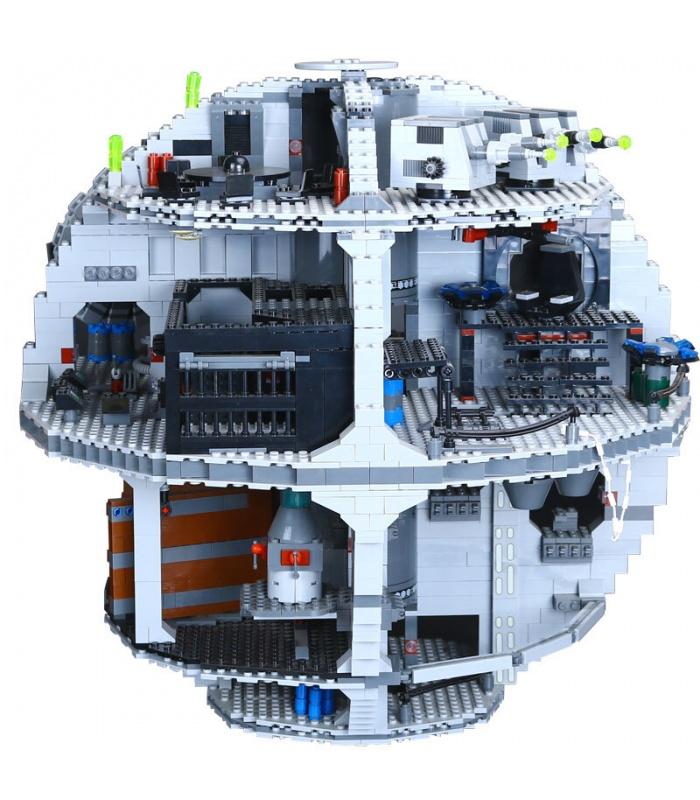 Custom UCS Darth Star Building Bricks Toy Set 3803 Pieces