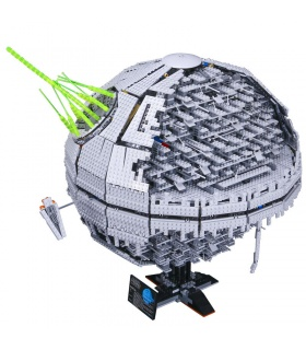Custom Star Wars UCS Darth Star II Bausteine Spielzeug-Set 3449 Stück