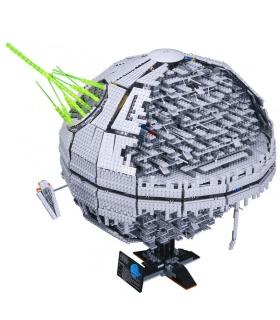 Пользовательские Звездные войны Дарт ПСК Звезда II строительного кирпича игрушка набор 3449 шт