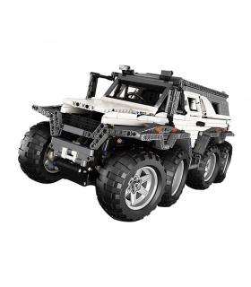 Benutzerdefinierte 23011 MOC Technic Avtoros Shaman 8x8 Bausteine Spielzeug-Set