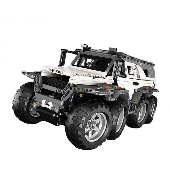 Custom 23011 MOC Technic Avtoros Shaman 8x8 Building Bricks Toy Set