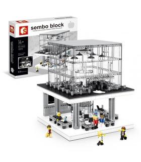 SEMBO SD6900 Apple Store Mit Lichtbausteinen Spielzeugset