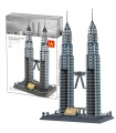 WANGE Architektur Petronas Twin Towers 5213 Bausteine Spielzeugset