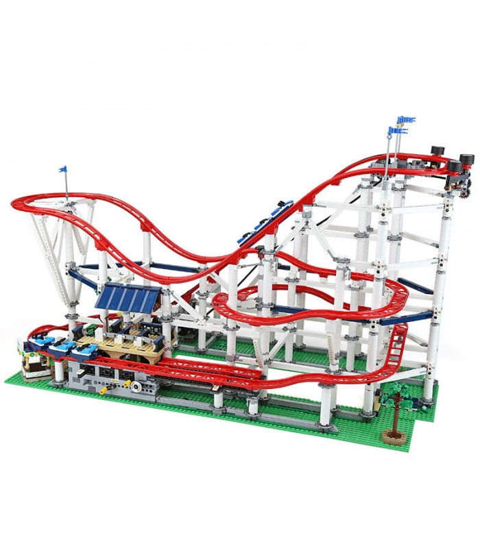 Custom Creator Expert Roller Coaster Building Bricks Toy Set 4619 Pieces