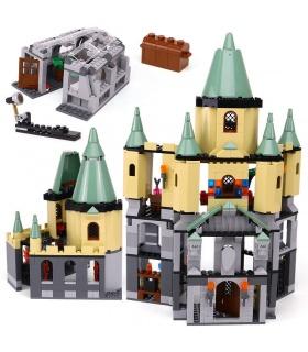 カスタム16029Hogwarts城の建物の煉瓦玩具セット
