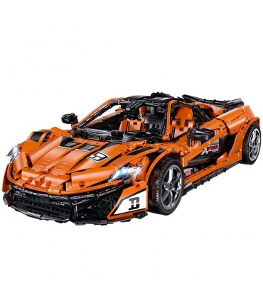 Benutzerdefinierte McLaren P1 MOC Super Auto Bausteine Spielzeug-Set 3307 Stück