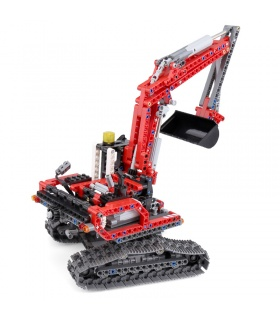 Custom 20025 Excavator Building Bricks Toy Set 760 Pieces