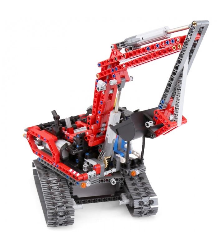 Custom 20025 Excavator Building Bricks Toy Set 760 Pieces