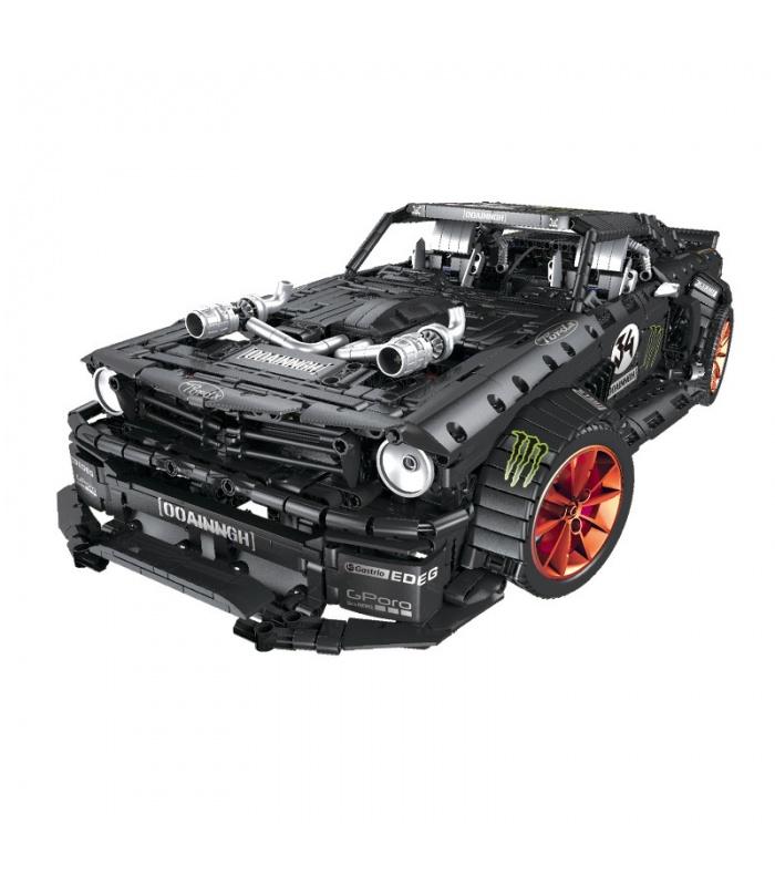 Benutzerdefinierte Technic Ford Mustang Hoonicorn Bausteine Spielzeug-Set 3168 Stück