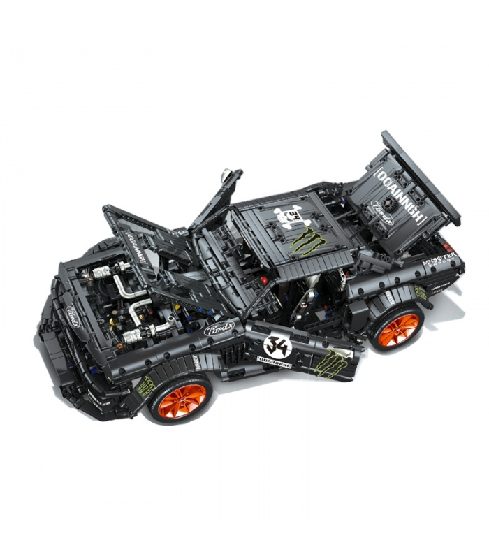 Нестандартная Техника Форд Mustang Hoonicorn Строительного Кирпича Игрушка Набор 3168 Штук