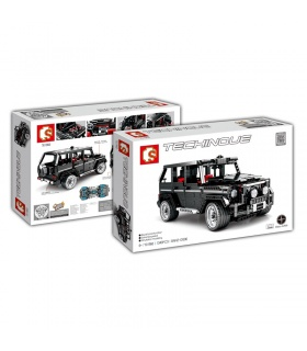 SEMBO 701960 Technic G500 Mercedesal Benz Off-Road-SUV-Building Blocks Spielzeug-Set