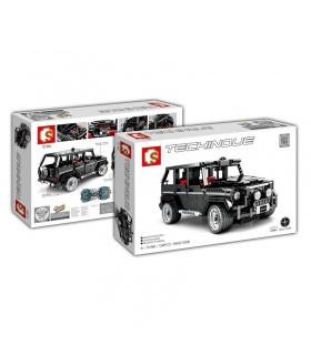 Сэмбо 701960 техника G500 с Mercedesal Бенц внедорожник внедорожник строительные блоки игрушка комплект