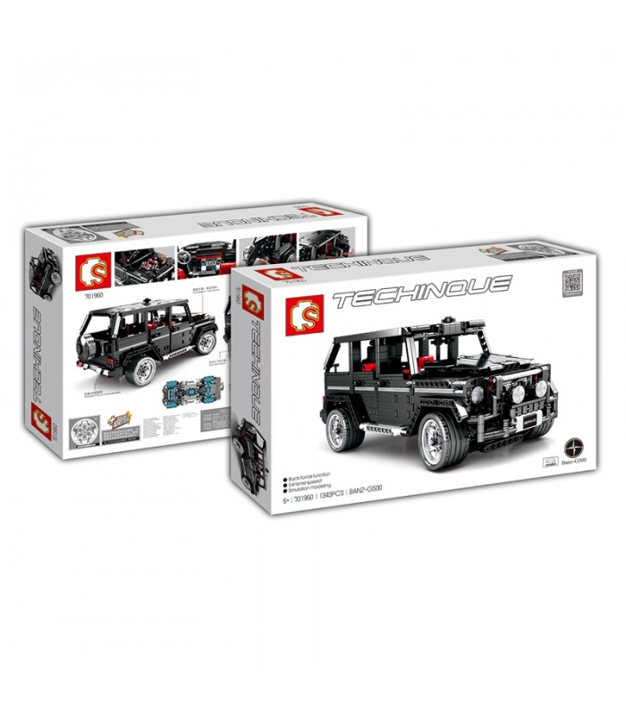 SEMBO 701960 Technic G500 Mercedesal Benz Off-Road SUV Building Blocks Toy Set