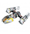 Custom Star Wars Y-wing Attack Starfighter Building Bricks Toy Set