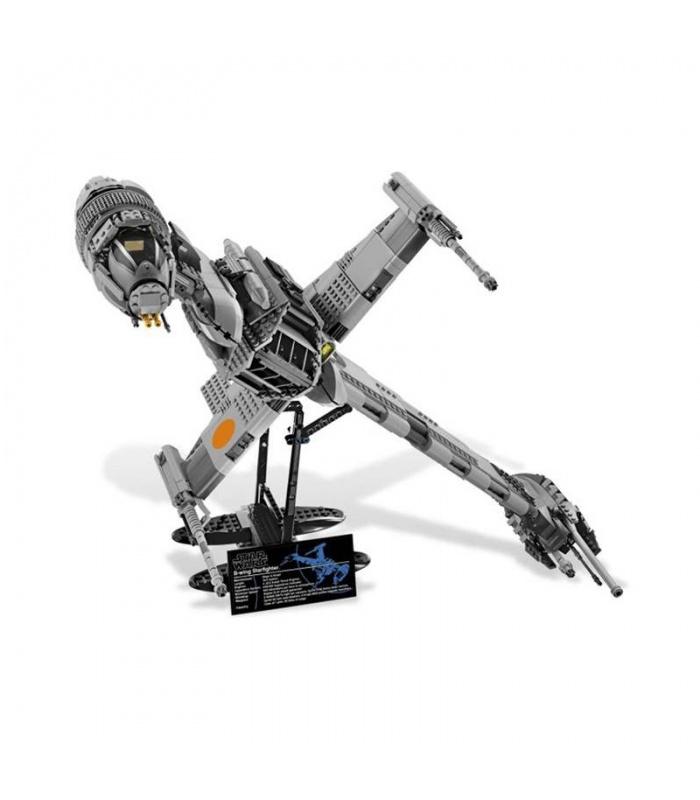 Custom Star Wars B-Wing Starfighter Building Bricks Toy Set