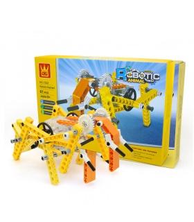 WANGE Robotique Animal Éléphant Mécanique, 1202 Blocs de Construction Jouets Jeu