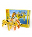 WANGE Robotic Animal Mechanical Elephant 1202 Building Blocks Educational Learning Toy Set
