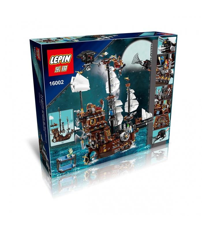 LEPIN 16002 MetalBeard's Sea Cow Building Bricks Set