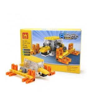 WANGE Roboter-Tier-Mechanische Schildkröte 1203 Building Blocks Spielzeug-Set