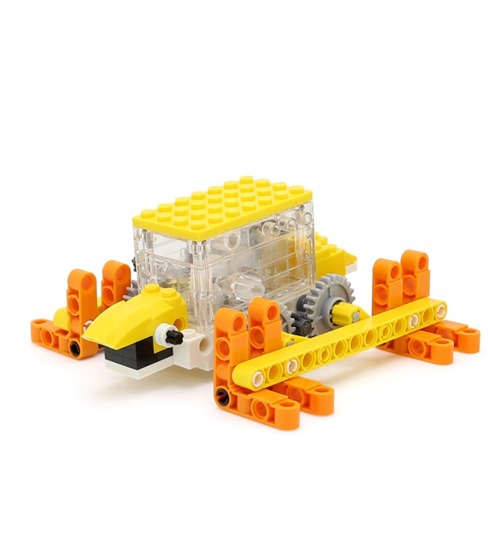 WANGE Robotic Animal Mechanical Tortoise 1203 Building Blocks Toy Set