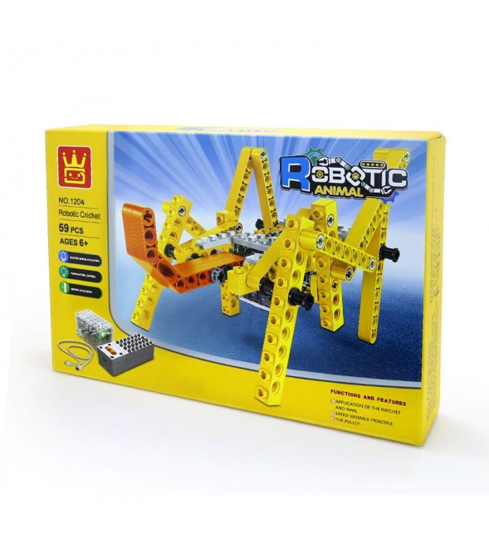 WANGE Robotic Animal Mechanical Tortoise 1204 Building Blocks Toy Set