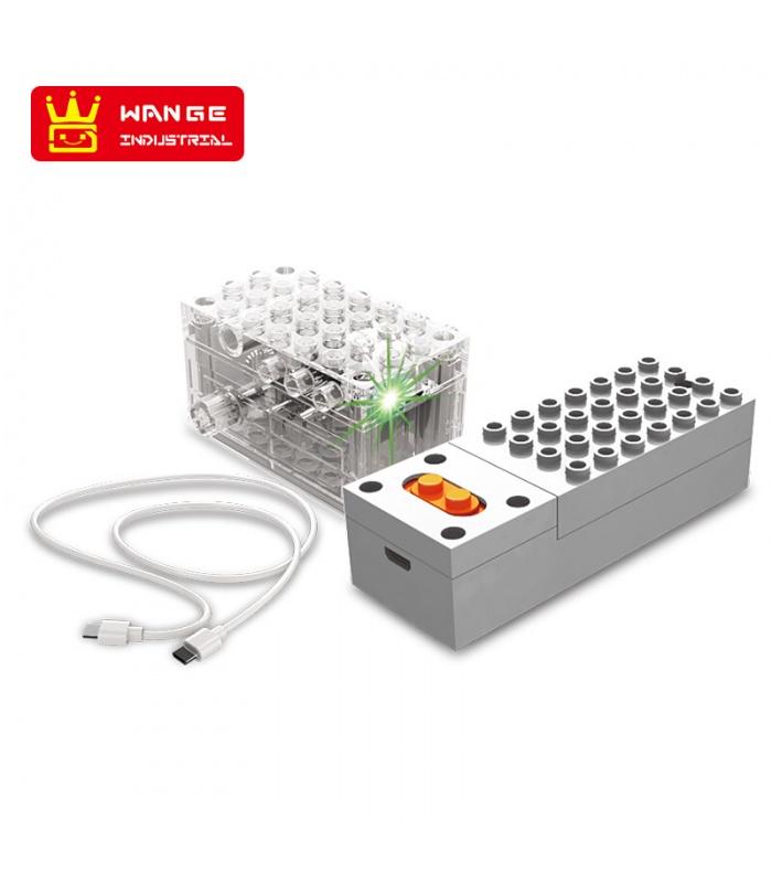 WANGE Roboter-Tier-Mechanische Schildkröte 1204 Building Blocks Spielzeug-Set